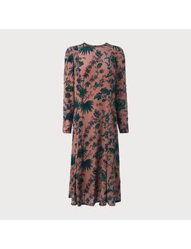Noah Pink Print Dress by L.K.Bennett