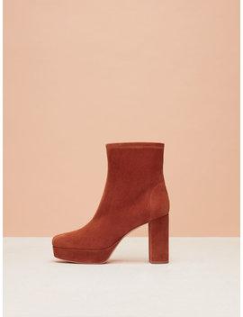 Yasmine Platform Boots by Dvf