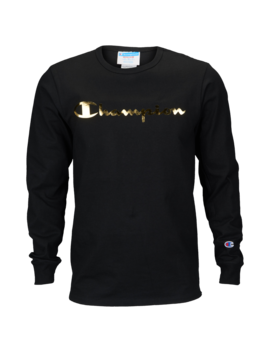 Champion Graphic Long Sleeve T Shirt by Champion