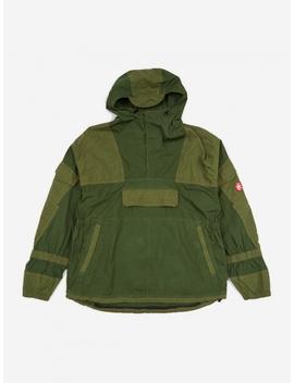 C.E Cav Empt Grk Light Pullover Jacket   Green by Cav Empt