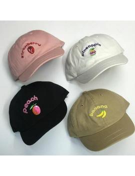 """""""Fruitlicious"""" Caps by So Aesthetic Shop"""