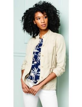 Vista Linen Jacket by J.Mc Laughlin