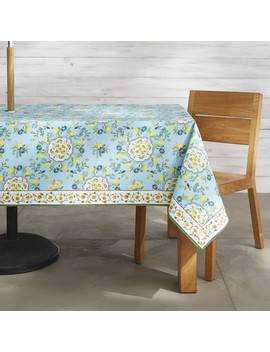 Aerin Seville Oilcloth Tablecloth by Williams   Sonoma