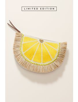 Raffia Lemon Pouch by Stella&Dot