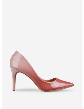 Blush Pu 'Eden' Ombre Court Shoes by Dorothy Perkins