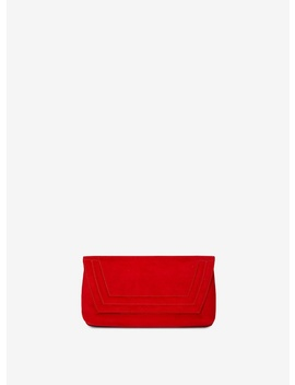Red Envelope Panel Clutch Bag by Dorothy Perkins