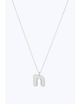 Bubbly N Pendant Necklace by Marc Jacobs