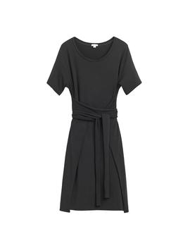 Loose Wrap Tee Dress by Cuyana