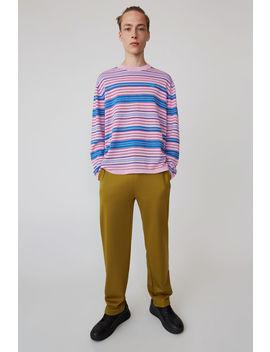 Striped Sweater Blush Pink/Pink/Aqua by Acne Studios