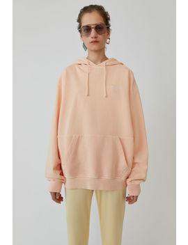 Hooded Sweatshirt Pale Orange by Acne Studios