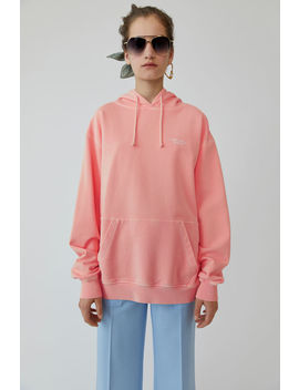 Hooded Sweatshirt Blossom Pink by Acne Studios