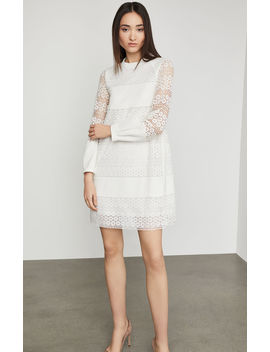 Circle Lace Shift Dress by Bcbgmaxazria