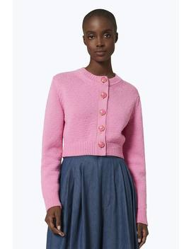 Cropped Knit Cardigan by Marc Jacobs