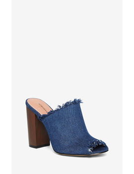 Ravella Denim Mule by Bcbgmaxazria