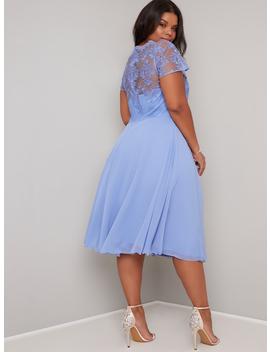 Chi Chi Curve Simoni Dress by Chi Chi London