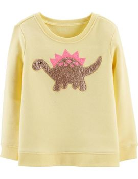 glitter-dinosaur-pullover by oshkosh