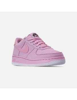 Girls' Big Kids' Nike Air Force 1 '07 Lv8 Style Casual Shoes by Nike