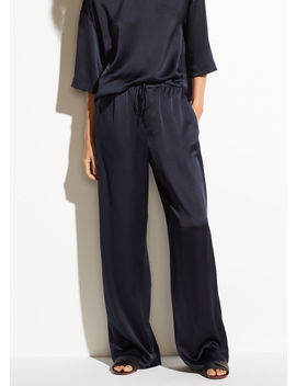 Satin Pj Pant by Vince