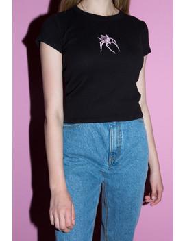 Hailie Spider Top by Brandy Melville