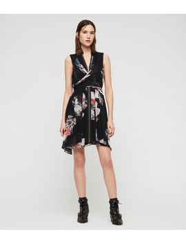 Jayda Violy Dress by Allsaints