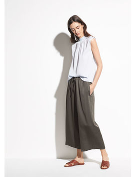 Satin Culotte by Vince
