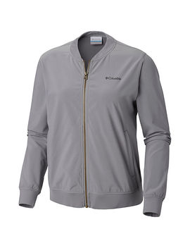 Women's Anytime Casual™ Full Zip Bomber Jacket by Columbia Sportswear
