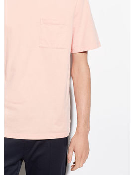 Cotton Jersey Short Sleeve by Vince