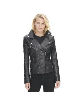 Vintage All Over Star Studded Leather Jacket Vintage All Over Star Studded Leather Jacket by Wilsons Leather