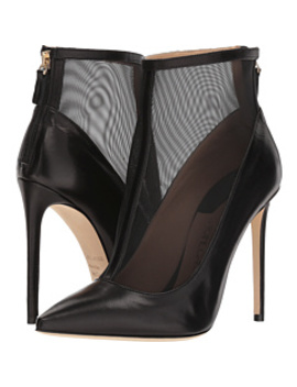 Sheer Overlay Bootie Heel by Racine Carrée