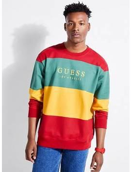 Guess Originals Field Stripe Sweatshirt by Guess