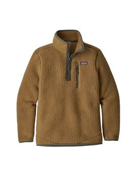 Patagonia Boys' Retro Pile Fleece 1/4 Zip by Patagonia