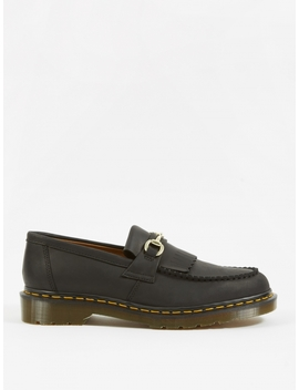 Dr. Martens X United Arrows Snaffle Loafer   Black Luxor Leather by Dr Martens