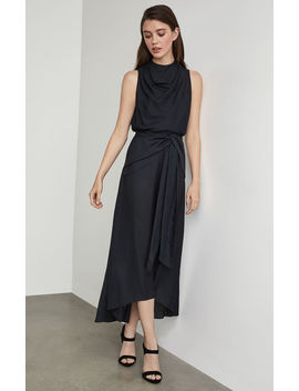 Twist Front Midi Skirt by Bcbgmaxazria