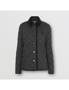 Monogram Motif Diamond Quilted Jacket by Burberry