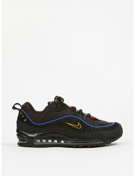 Air Max 98   Black/Amarillo University Red by Nike