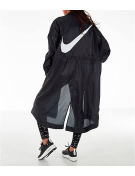 Women's Nike Sportswear Swoosh Long Windrunner Jacket by Nike