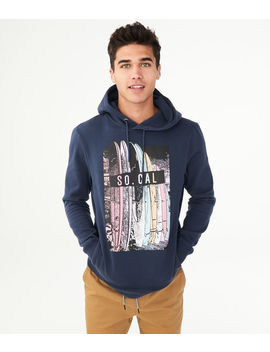 So Cal Surfboard Pullover Hoodie by Aeropostale