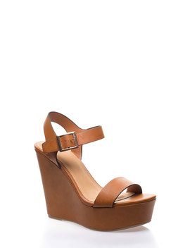 High And Mighty Platform Wedges by Go Jane