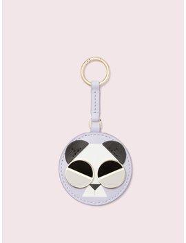 Spademals Gentle Panda Dangle Keychain by Kate Spade