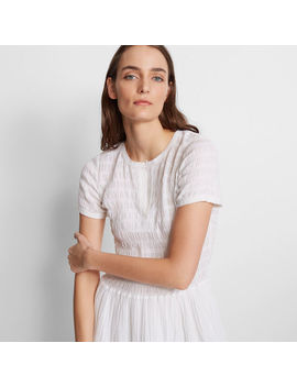 Tiyah Smocked Dress by Club Monaco