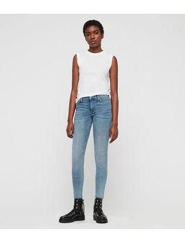 Grace Dart Ankle Skinny Jeans by Allsaints