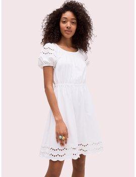 Scallop Border Knit Dress by Kate Spade