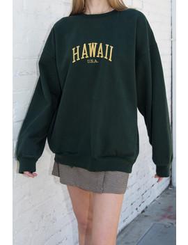 erica-hawaii-sweatshirt by brandy-melville