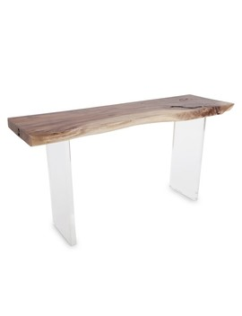 Floating Wood Console by Williams   Sonoma