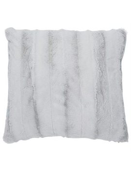 "Pillow Cover Luxe Faux Fur Mist 18"" X 18"" by Chapters Indigo Ca"