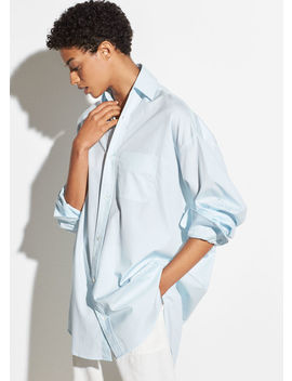 Oversized Classic Cotton Shirt by Vince