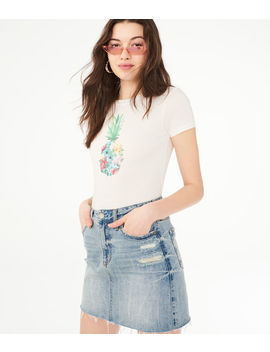 Floral Pineapple Graphic Tee by Aeropostale