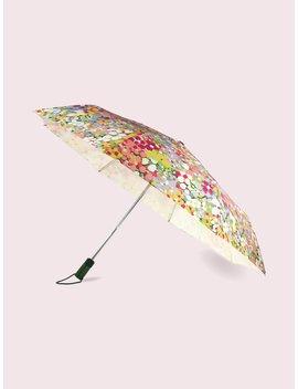 Floral Dot Travel Umbrella by Kate Spade