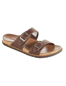 Women's Eco Comfort Leather Sandals, Two Strap by L.L.Bean