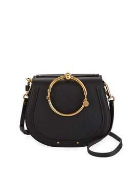 Nile Small Bracelet Crossbody Bag, Black by Chloe